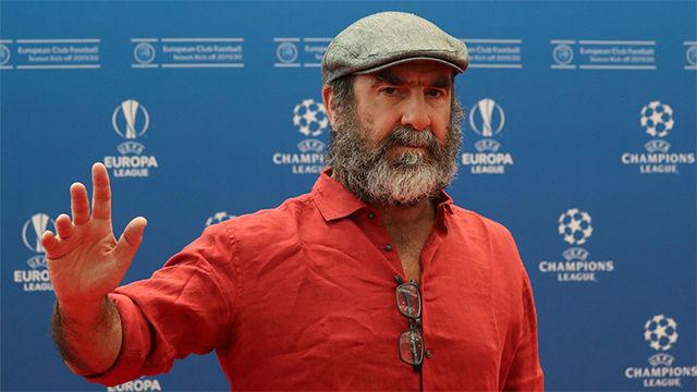 El ingenioso discurso de Cantona tras recibir el Premio Presidente de la UEFA