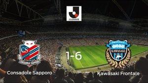 El Kawasaki Frontale se pasea frente al Consadole Sapporo sin apenas obstáculos (1-6)