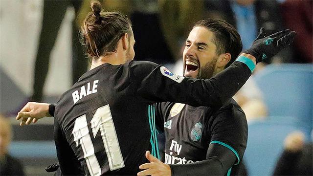 LALIGA   Celta Vigo - Real Madrid (2-2): El segundo gol de Bale