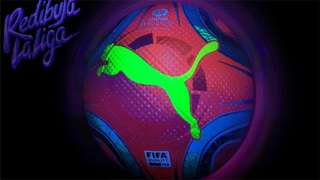LaLiga presenta el nuevo balón para los próximos meses