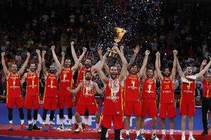 Las imágenes de la victoria de España contra Argentina en la final del Mundial de Baloncesto 2019.
