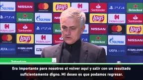 Las palabras de Mourinho tras cerrar la fase de grupos de la Champions