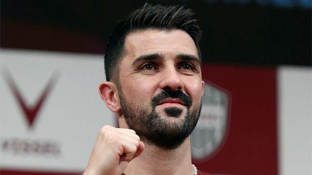Los emotivos mensajes que ha recibido Villa de sus amigos futbolistas