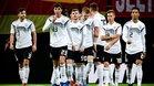 Los jugadores celebrando el gol de Süle