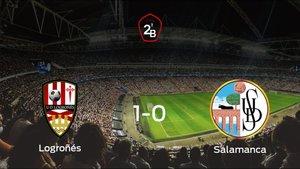 Los tres puntos se quedan en casa: Logroñés 1-0 Salamanca UDS