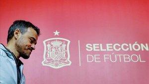 Luis Enrique está al mando de España