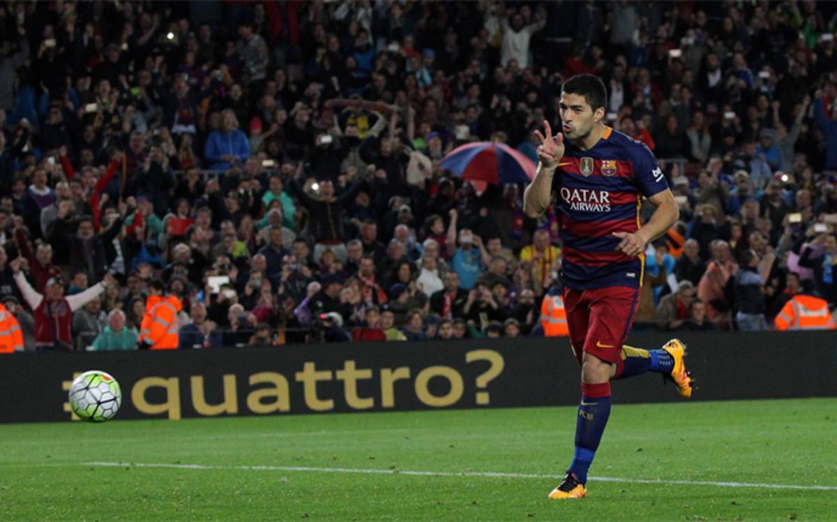 Luis Suárez pulveriza la mejor temporada de su carrera