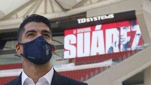 Luis Suárez se siente feliz en el Atlético de Madrid