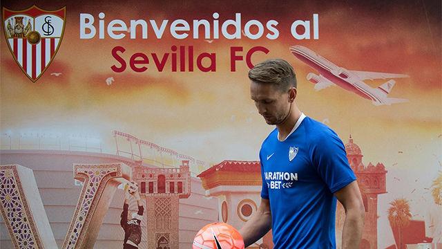 Luuk De Jong, en su presentación con el Sevilla: Es una oportunidad increíble