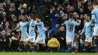 El Manchester City viene de endosarle un 6-0 al Chelsea en liga