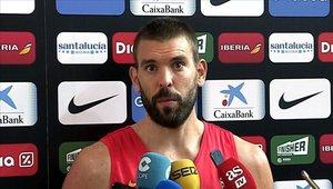 Marc Gasol tuvo actividad con la selección de España