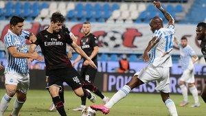 El Milan se dejó dos puntos importantes en Ferrara