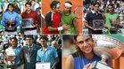 Nadal siempre ha ganado a Federer en Roland Garros