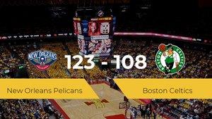 New Orleans Pelicans logra la victoria frente a Boston Celtics por 123-108