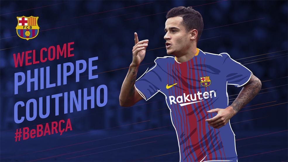 OFICIAL: Coutinho ya es jugador del FC Barcelona (ES)