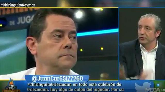 Pedrerol y Roncero se enfrentan por Neymar