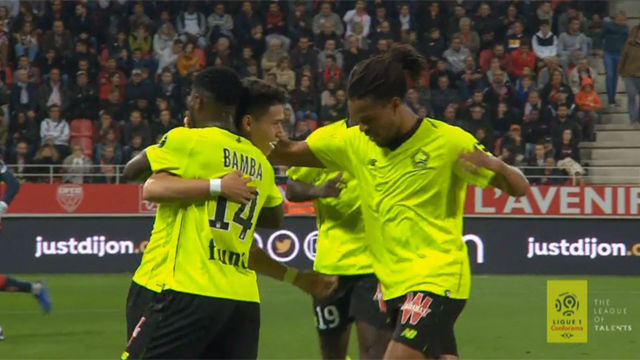 Por cosas como esta quiere el Barça a Pépé: ojo al taconazo que inició el gol del Lille