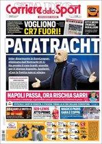 Portada del Corriere Dello Sport del 15 de marzo de 2019