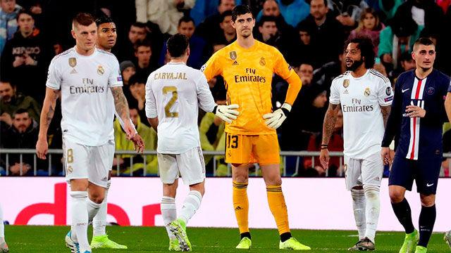 El Real Madrid se deja empatar en tres minutos por un PSG vengador