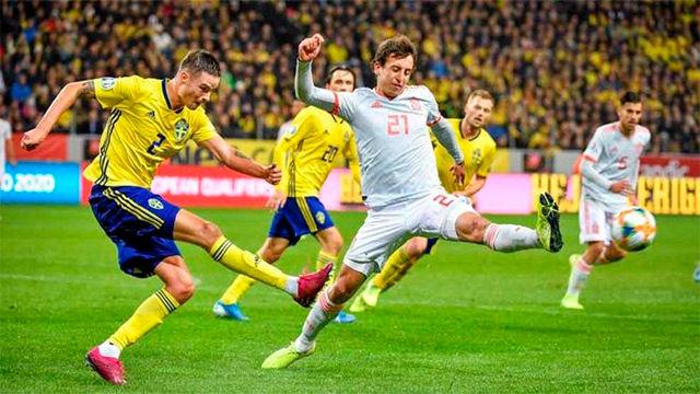 Rodrigo da a la selección el bille para la Eurocopa