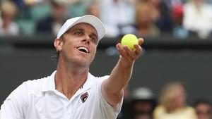 Sam Querrey, primer semifinalista en Wimbledon 2017