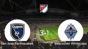 El San Jose Earthquakes se lleva tres puntos después de ganar 3-1 al Vancouver Whitecaps