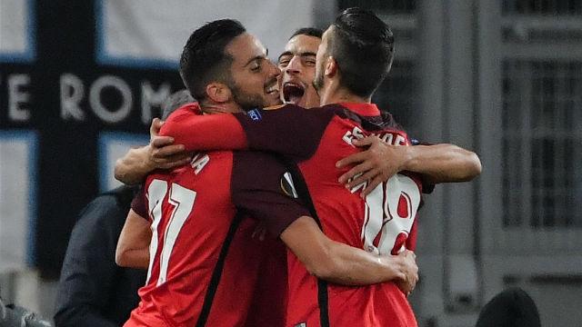 El Sevilla se impone a la Lazio por la mínima