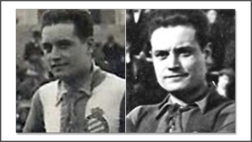 El trágico final del blanquiazul y azulgrana Luis Blanco (ES)