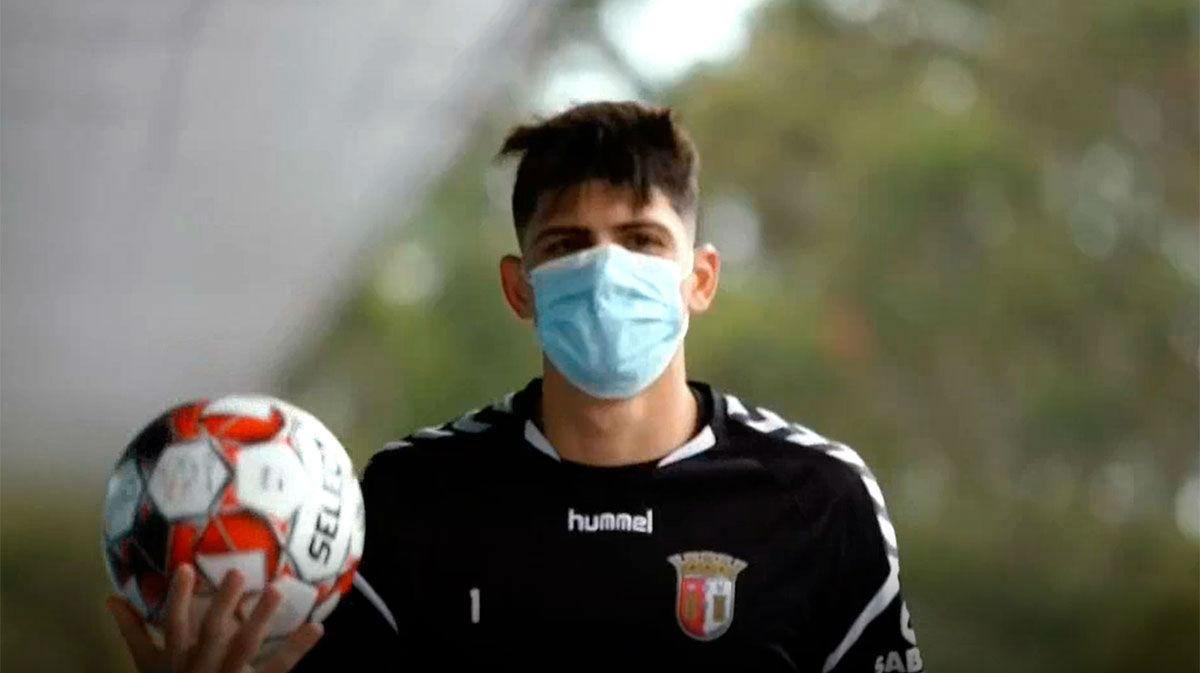 Trincao retoma los entrenamientos con el Braga