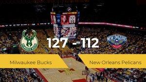 Triunfo de Milwaukee Bucks ante New Orleans Pelicans por 127-112