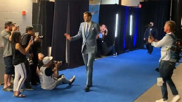 La ¿última? llegada de Nowitzki al American Airlines Center