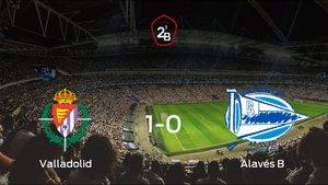 El Valladolid B vence 1-0 al Alavés B y se lleva los tres puntos