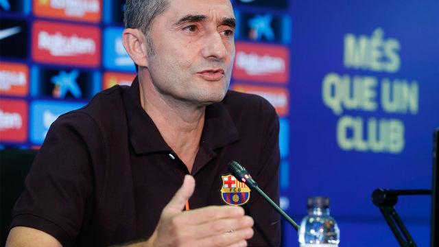 Valverde detalla el estado de forma de Messi