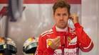 Vettel, concentrado previo al inicio de la sesión de calificación
