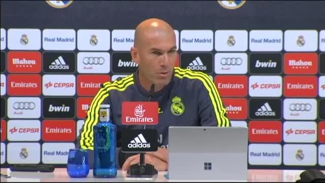 Zidane: La BBC juega seguro