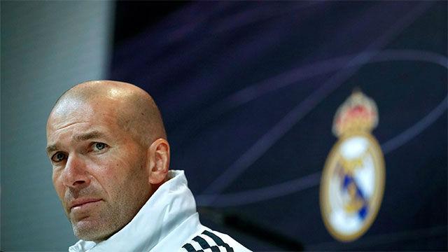 Zidane explica que Coutois tiene varias molestias
