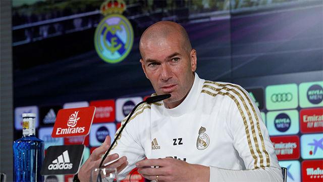 Zidane sobre el VAR: Todo en la vida puede fallar