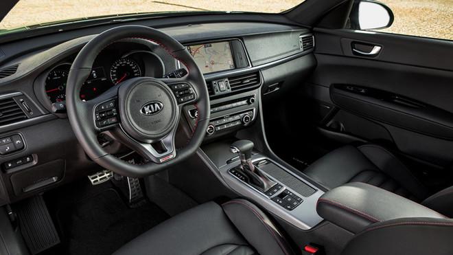 Interior del Kia Optima