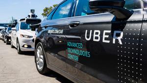 Modelos de pruebas de Uber en Estados Unidos.