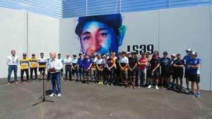 Los pilotos han recordado a Luis Salom