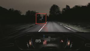 Seguridad premium en el Peugeot 508, con visión nocturna incorporada