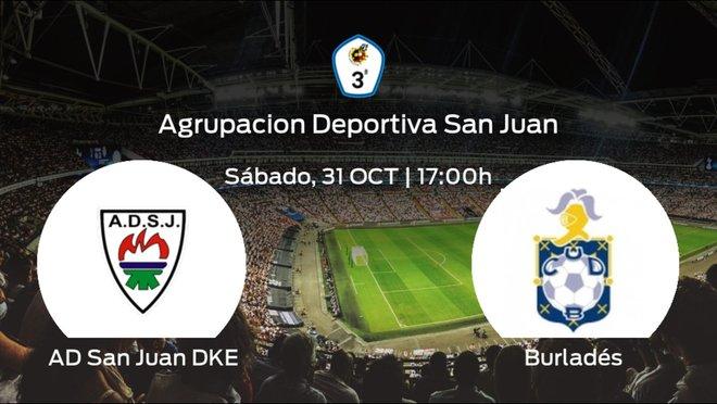 Previa del encuentro: San Juan DKE - Burladés