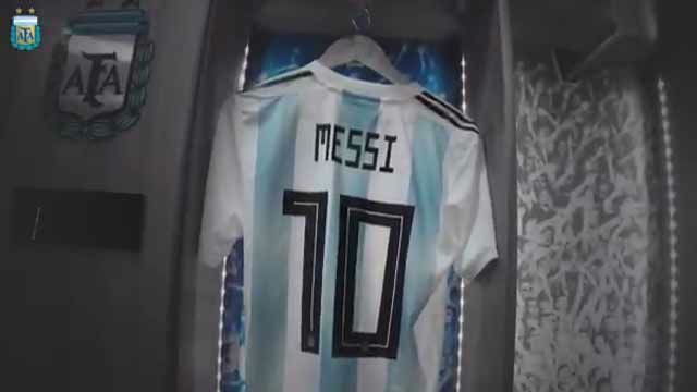 Así anuncia Argentina el regreso de Messi