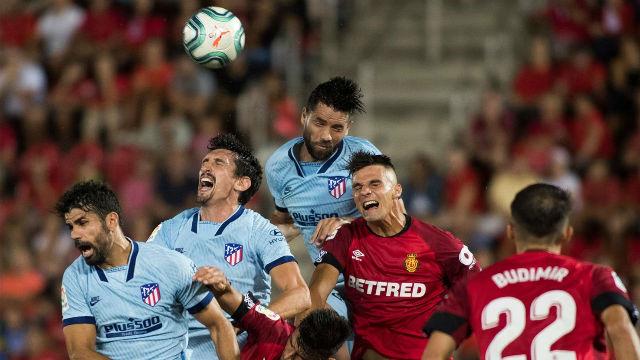 El Atlético ganó 0-2 en el campo del Mallorca en la primera vuelta