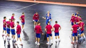 El Barça de fútbol sala afronta un lunes muy importante