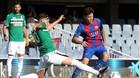 El Barça B tuvo que sufrir durante noventa minutos para seguir en la pelea poor el ascenso