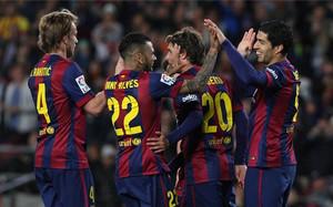 El Barça venció al Almería