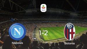 El Bolonia suma tres puntos a su casillero frente al Nápoles (1-2)