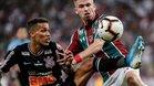 Corinthians y Fluminense protagonizaron un muy duro partido