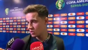 Coutinho dejó su continuidad en el Barça en el aire
